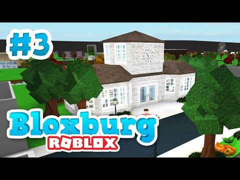 BUILDING THE TOWN HALL - Roblox Welcome to Bloxburg #3