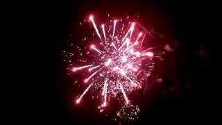 Showfeuerwerk 28.12.2014 bei wreesmann für Silvester