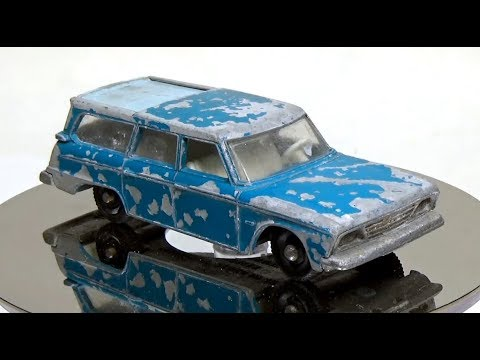 A channel all about restoring vintage Matchbox cars