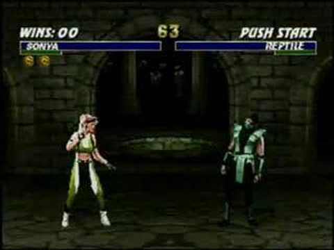 mortal kombat trilogy nintendo 64 moves