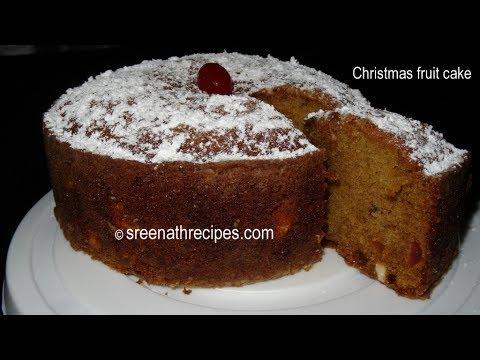 Christmas Fruit Cake – Pressure Cooker Cake – Cake Recipe