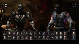 Mortal Kombat XL  How To Unlock Triborg Cyber SubZero + Hidden Brutality Found