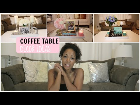 COFFEE TABLE DECOR IDEAS (видео)