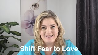 """Shift Fear to Love:                                 """"The Dangers of Social Media"""""""
