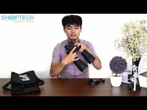REVIEW Ống Nhòm Sakura 20-100x180 Chính hãng tại Shoptech.vn