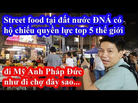 Ngán ngẫm street food tại thủ đô Kuala Lumpur Malaysia - Hộ chiếu top 5 quyền lực nhất thế giới - Thời lượng: 21 phút.
