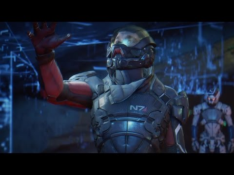 Mass Effect Andromeda Game Awards Gameplay Demo in 4K