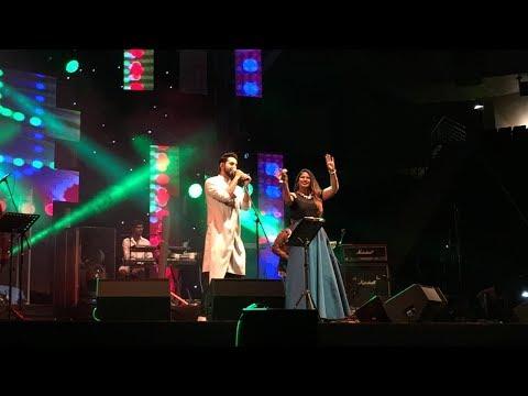 'Afeemi/Love Yourself Mashup' - Shannon Donald & Ayushmann Khurrana Live