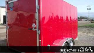 3. 2016 United Trailers XLV 7' x 14' Tandem Axle  - Beck's T...