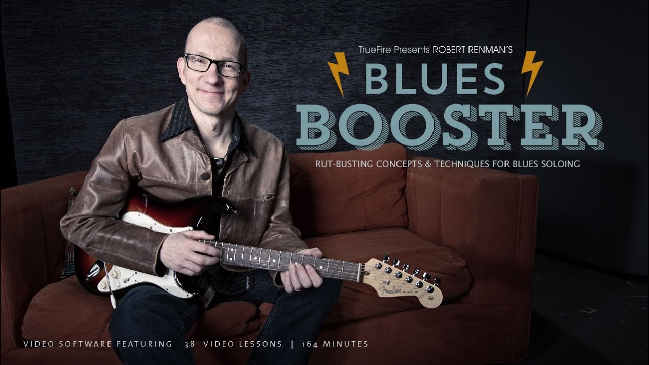 Blues Booster – #7 Diminished Scale – Guitar Lesson – Robert Renman