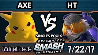Watch More Matches here: [http://bit.ly/2tpj2mV] Live Broadcast By VBootCamp: http://www.twitch.tv/DreamhackSmash Subscribe ...
