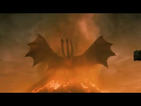 King Ghidorah Alpha Roar wakes other Titans