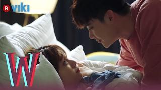 Video W - EP 7 | Lee Jong Suk & Han Hyo Joo Cuddling in Bed MP3, 3GP, MP4, WEBM, AVI, FLV Maret 2018