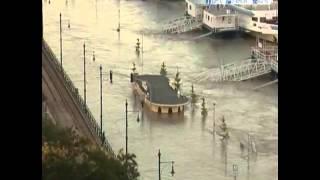 Budapesti árvíz 2013 - High Water in Budapest 2013 Timelapse