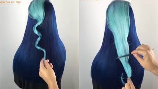 Video NEW Hair Color Transformation - 12 Amazing Beautiful Hairstyles Tutorial Compilation March 2018! MP3, 3GP, MP4, WEBM, AVI, FLV Juli 2019
