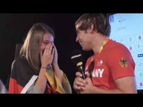 Überraschung für Freundin: Paralympics-Sieger macht in Rio Heiratsantrag