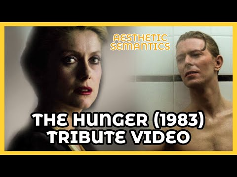 The Hunger 1983 TRIBUTE - Catherine Deneuve David Bowie 4K - Synthwave: Downtown Binary - Paradox