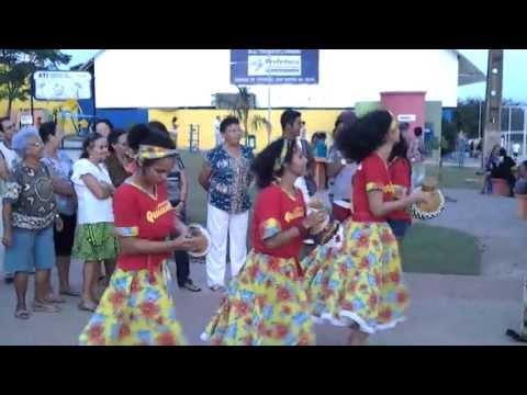 Maracatu Vitória Nação Quiloanda em DEZ de 2012