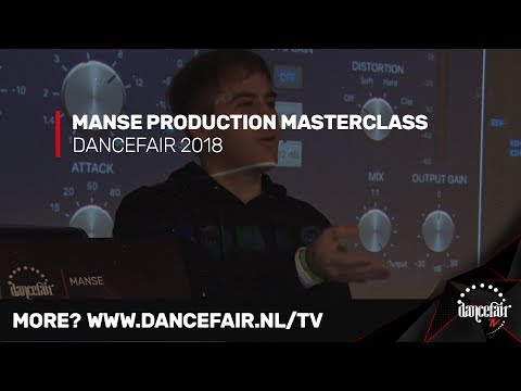 Manse On Mixing, Layering, Melodies And Drops | Dancefair 2018