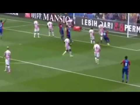 Crystal place vs Stoke City 4-1 All Goals and Highlights! 2016