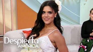 Francisca Lachapel luce más sensual en esta opción de vestido de novia