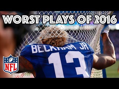 Worst Plays of the 2016 Season | NFL Highlights