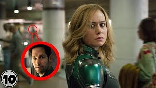 Video Top 10 Easter Eggs You Missed In The Captain Marvel Trailer MP3, 3GP, MP4, WEBM, AVI, FLV September 2018