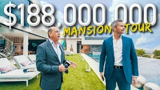 Video Touring A Massive $188 Million California Mega Mansion | Ryan Serhant Vlog #038 MP3, 3GP, MP4, WEBM, AVI, FLV Januari 2019