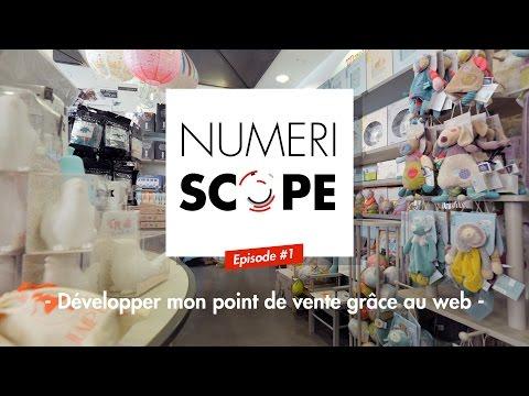 Numériscope #1 Développer son point de vente grâce au web