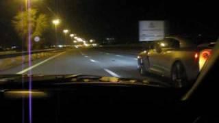 GT-R R35 VS Z33 350Z TURBO IN UAE