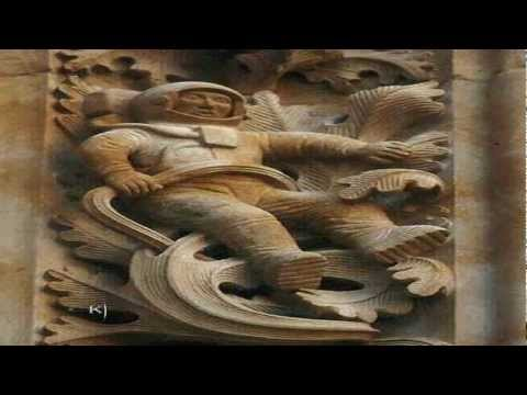 Ancient Astronaut Found On Spanish Cathedral? 2013 1080p Available