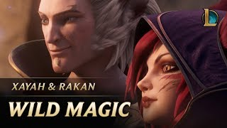 Xayah and Rakan: Wild Magic  New Champion Teaser - League of ...
