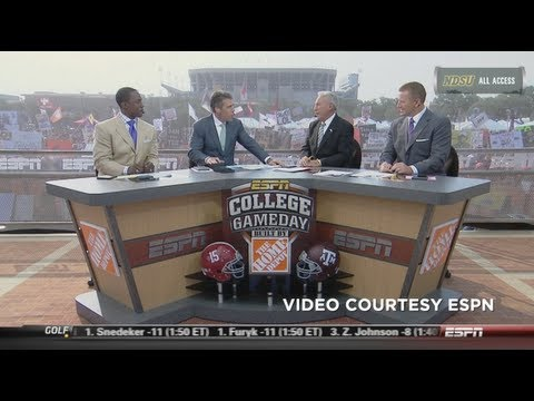 ESPN's College GameDay Coming to NDSU