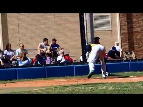 Video Highlights: Baseball at No. 17 Crowder (3/5/2016)