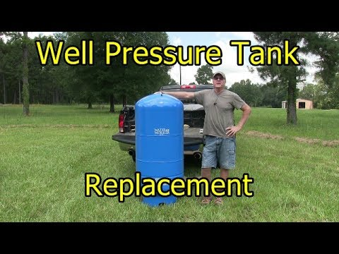 Well Pressure Tank Replacement