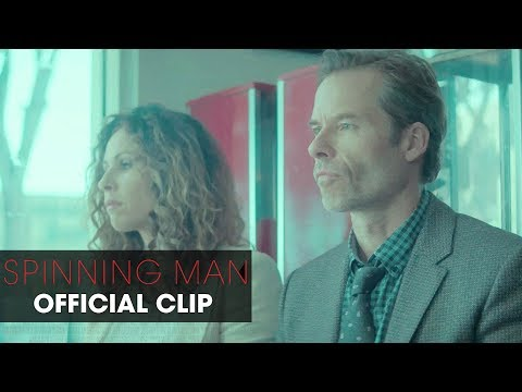 "Spinning Man (2018 Movie) Official Clip ""Coincidence"" – Pierce Brosnan, Guy Pearce, Minnie Driver"
