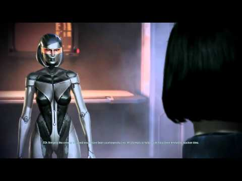 Mass Effect 3: New, super-hot sexy EDI! (видео)
