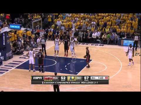 NBA 2014季後賽G5,史帝芬森偷聽熱火教練講解戰術