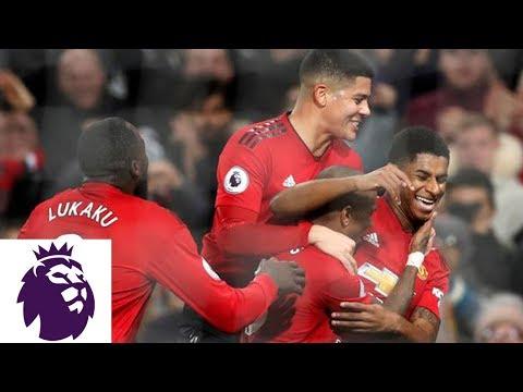 Video: Marcus Rashford's powerful strike makes it 4-1 against Fulham | Premier League | NBC Sports