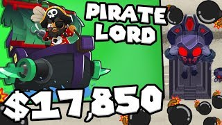 Bloons TD 6 - Pirate Lord Tower - Tier 5 Monkey Buccaneer Tower | JeromeASF