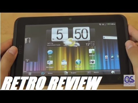 Retro Review: HTC Evo View 4G [HTC Flyer] Android Tablet