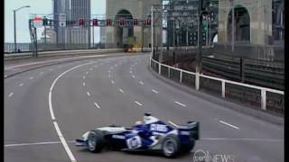 Mark Webber - Sydney Harbour Bridge 2005