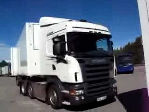 Грузовики Scania 25.25m trucks on show