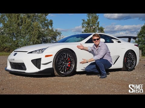 The Lexus LFA Nürburgring Edition is to DIE FOR! | REVIEW