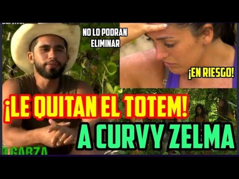 LE QUITAN EL TOTEM A CURVY ZELMA Y YA SE SABE QUIEN FUE