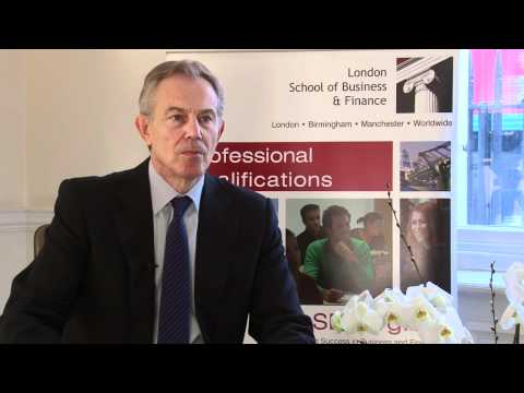 LSBF Interviews Tony Blair: The Future of Education (Full Interview)