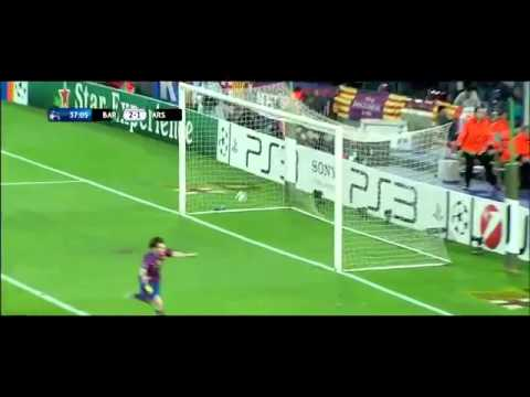 Barcelona - Arsenal 4 - 1 Lionel Messi Super Hattrick All Goals HD (06.04.2010)