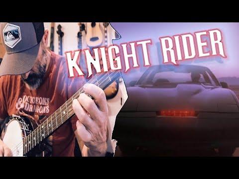 Knight Rider Banjo Cover