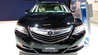 2014 Acura RLX - Exterior And Interior Walkaround - 2013 Montreal Auto Show