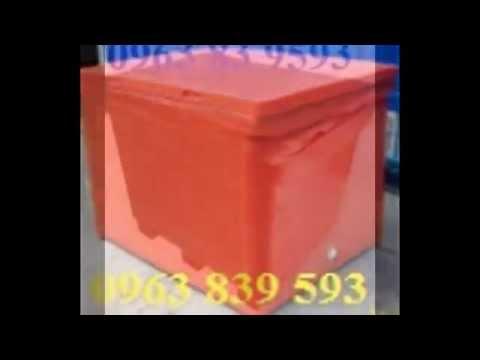 Thùng giữ lạnh lớn, thùng giữ lạnh công nghiệp giá sỉ